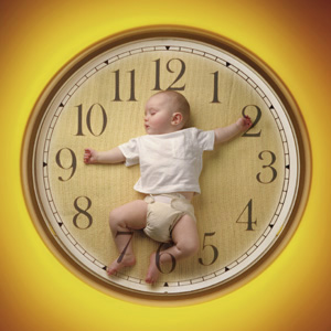 The tick, tick, tick of the biological clock...
