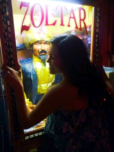6th street shenanigans. Bonding w/ the Zoltor.